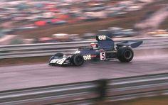 Jackie Stewart (GBR) (Elf Team Tyrrell), Tyrrell 006 - Ford-Cosworth DFV 3.0 V8 (finished 5th)  1973 Canadian Grand Prix, Mosport Park