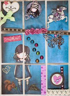 ACEO / ATC - Art Trading Card inspiration - Pocket Letters