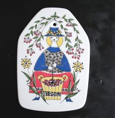 Your place to buy and sell all things handmade Norway Food, A Level Textiles, Vintage Walls, Ceramic Artists, Porcelain Ceramics, Wall Plaques, Scandinavian Design, Wood Art, Art Photography