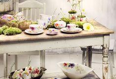En clave Primavera: vestimos la mesa   Decorar tu casa es facilisimo.com