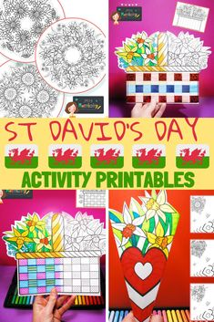 St David's day activities ks1, St David's day activities brownies, St David's day EYFS, St David's day foundation stage, st David's day crafts ks1, St David's day crafts early years.