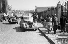 Bomberos de Valparaíso en 1950