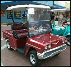 58' Chevy Impala golf cart body kit~