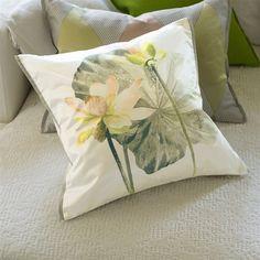 Designers Guild Cushions - NYMPHAEA BIRCH