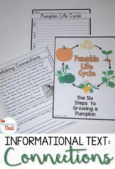Making Connections in a Nonfiction Text. This Exploring ELA post is about making connections in a nonfiction text. In this blog post I talk about buzz words and share my 5 Key Tasks for Teachers when it comes to teaching making connections. Learn more about how you can create you making connections in a nonfiction text lesson plans here. Apple Life Cycle, Pumpkin Life Cycle, Text To Text Connections, Making Connections, Text To Self, Common Core Ela, Text Evidence, Text Types, Teaching Reading