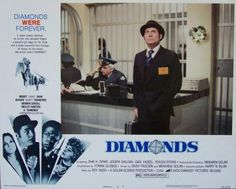 Diamonds Lobby Card #4, 1972, $7.50
