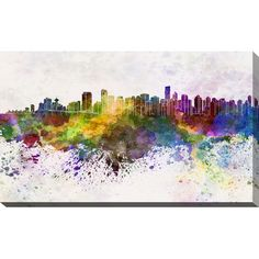 PicturePerfectInternational Vancouver Graphic Art on Wrapped Canvas Size: