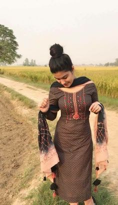 Image may contain: one or more people, people standing and outdoor Punjabi Girls, Punjabi Dress, Indian Wedding Gowns, Indian Dresses, Latest Punjabi Suits Design, Patiala Suit Designs, Cool Hairstyles For Girls, Long Hair Models, Long Haired Cats
