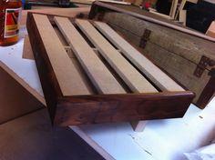 Walnut Guitar Pedal Board