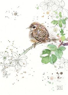 BugArt Critters ~ Wren Fledgling. CRITTERS *NEW* Designed by Jane Crowther.