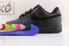 "Nike Air Force 1'07 QS ""magic change hook black"" AH8462-002 Air Force 1, Nike Air Force, High Top Sneakers, Sneakers Nike, High Tops, Magic, Change, Stuff To Buy, Shoes"