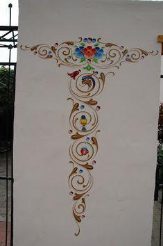 Foodtrucks Ideas, Simple Wall Paintings, Frame Clipart, Patch Design, Printable Paper, Painting Techniques, Flower Power, Folk Art, Art Decor