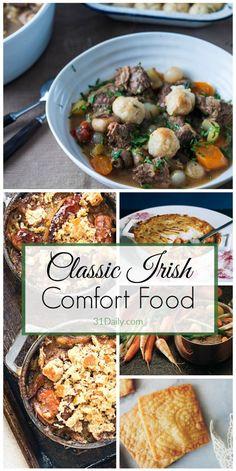 Classic Irish Recipes, Emerald Isle Comfort Food at its Best | 31Daily.com