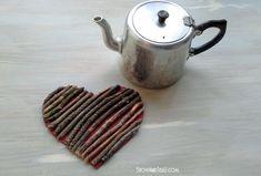 Twig Heart Trivet
