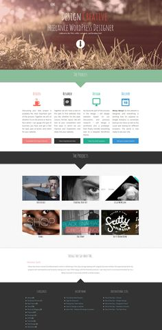 Like the graphic header and central arrow #webdesign #layout #ui #design #web