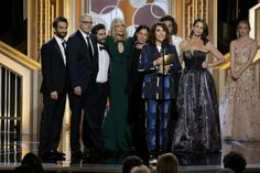 """Amazon Makes History at Golden Globes wins its first Golden globe awards, for best comedy series and best actor for its TV comedy series """"Transparent"""" #technews #goldenglobes #trending #amazon #TVseries #comedy  #socialmedia #socialmediamarketing #technology #socialglims #socialmediaconsulting  #tech #news #socialglims #mydubai #dubai #expo2020 #transparent"""
