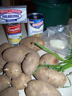 Crock Pot Potato Soup - excellent recipe!! My picky eater asked to have some for her lunch the next day!