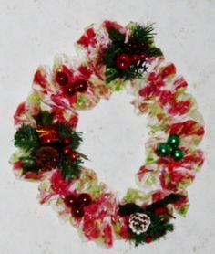 Handmade by me, AROMATIC CHRISTMAS WREATH. THE SMELL OF CHRISTMAS. $25.00