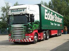 2007 SCANIA - Eddie Stobart Eddie Stobart Trucks, Scania V8, Old Wagons, Road Transport, Transport Companies, Semi Trailer, Swedish Brands, Fan Picture, Commercial Vehicle