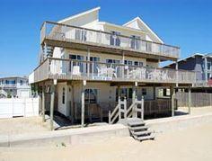 Sandbridge Beach - Oceanfront Vacation Home / Siebert Realty / Virginia Beach, VA  - Queen O'Sea - 3628 Sandfiddler Road