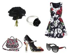 """Black roses"" by adri-98 on Polyvore"