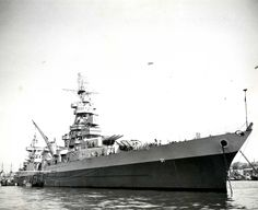 8 in Northampton class heavy cruiser USS Augusta saw service as a headquarters ship during 3 invasions: Operation Torch (North Africa), Operation Overlord (Normandy) and Operation Dragoon (Southern France).  She was also notable for her occasional use as a presidential flagship, carrying both Franklin D. Roosevelt and Harry S. Truman.
