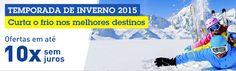 Pacotes CVC baixa temporada em Bariloche - Inverno 2015 #pacotes #cvc #viagens #bariloche