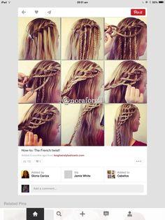 Hair for Easter& Summer