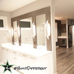 #BuildDifferent is a master bedroom ensuite that pictures can not even begin to capture properly.  #YQR #ModernHome #CustomBuild #CustomHomes #quality #modern #original #home #design #imagine #creative #style #realestate #trueoriginal #dreamhome #architecture #dreamhomes #interior #YQRbuilds #construction #house #builder #homebuilder #showhome #beautiful #preparation #dream #DamnGoodHouses