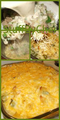 Philly Cheese Steak Casserole... Not exactly healthy but looks good!
