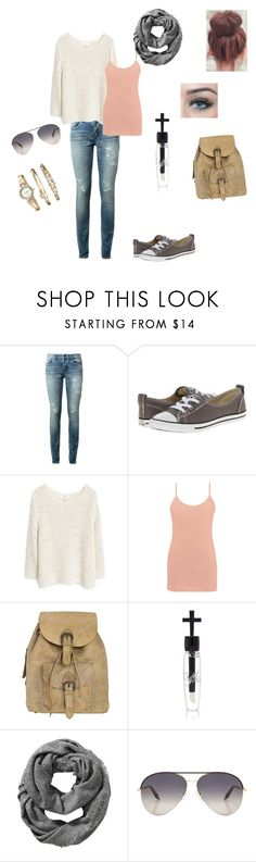 """Untitled #278"" by adrianne-baier ❤ liked on Polyvore featuring Yves Saint Laurent, Converse, MANGO, BKE core, NOVICA, Manic Panic NYC, Old Navy, Victoria Beckham and Anne Klein"