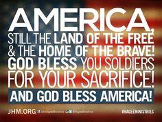 God Bless #America!