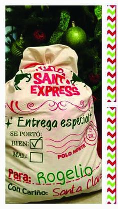 costales navideños, bolsa para navidad , regalos. etc.