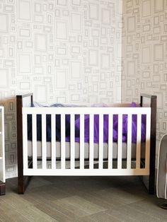 Muu Ray Crib Set In Hazelnut   MUU 204B | For The Home | Pinterest | Crib  Sets