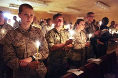 Service members attend Easter Vigil Mass conducted by Archbishop Timothy P. Easter Vigil Mass, Catholic, Religion, Concert, Concerts, Roman Catholic