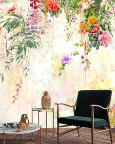 This one is called NEW BEGINNINGS and is a celebration of the changing of seasons. In Cape Town we see the start of Spring which will be a… Spring Starts, New Beginnings, Cape Town, Wall Design, Celebration, Seasons, Wallpaper, Painting, Instagram