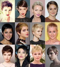 Çok Kısa Kadın Saç Modelleri : Erkek Çocuğu Stili