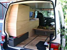 Build Your Own Camper Van - Tips And Ideas