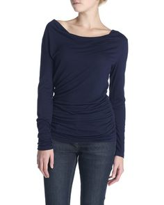 Ruched Cowl Top