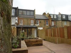 Rear loft and ground floor extensions by VC Design architectural services circa 2007
