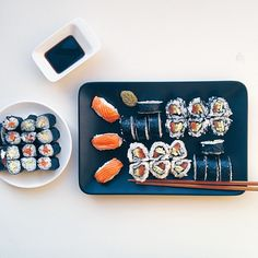 """In case you guys liked sushi  #sushi #mealforameal #foodiesfeed #food #foodsii #foodstagram #foodgram #instafood #foodlove #foodporn #foodstyling…"""