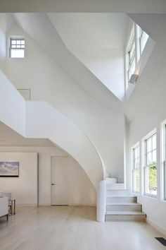 Белый дом в штате Массачусетс от HFP Ambuske Architects.jpg