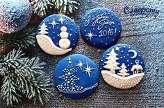 Image result for christmas rock painting