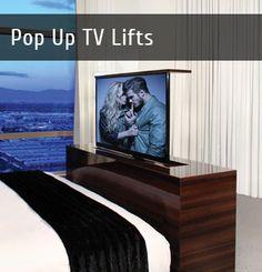 Hidden TV Lift Mechanisms - Nexus 21 TV Lifts