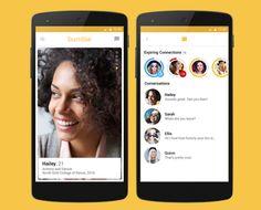 必ず女性の方から声をかけるデートアプリBumbleがiOS上で8000万のカップルを作り、今月からAndroidでも可利用に