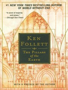 Another massive book that I just love! Usually I can't stand books by Ken Follet, but this one is just amazing. It is a historical fiction that spans generations. Very good read :) Books To Read, My Books, Ken Follett, Earth Book, Earth Movie, Gothic Cathedral, Long Books, Thing 1, Historical Fiction