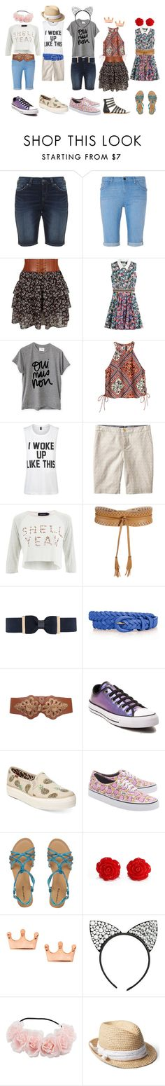 """IB kid starter pack"" by wizardswithnomoney ❤ liked on Polyvore featuring Silver Jeans Co., Dorothy Perkins, New Look, Mary Katrantzou, Sincerely, Jules, H&M, Private Party, Banana Republic, MINKPINK and BCBGMAXAZRIA"