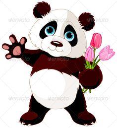 Happy Panda  #graphicriver