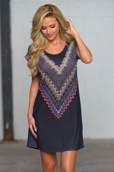 Living In The Moment Dress from Closet Candy Boutique