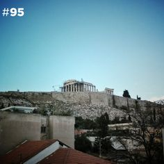 Acropolis, Athens, Rooftop, Greece, Louvre, City, Building, Travel, Greece Country